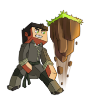 Minecraft Earthbending Skin